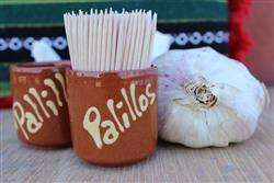 "Spanish ""Palillo""- Tooth pick holder"