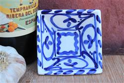 Retro Azul Mini Square Tapas bowl