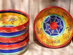 Jaen 'Orange' Large Tapas bowl (Pair)
